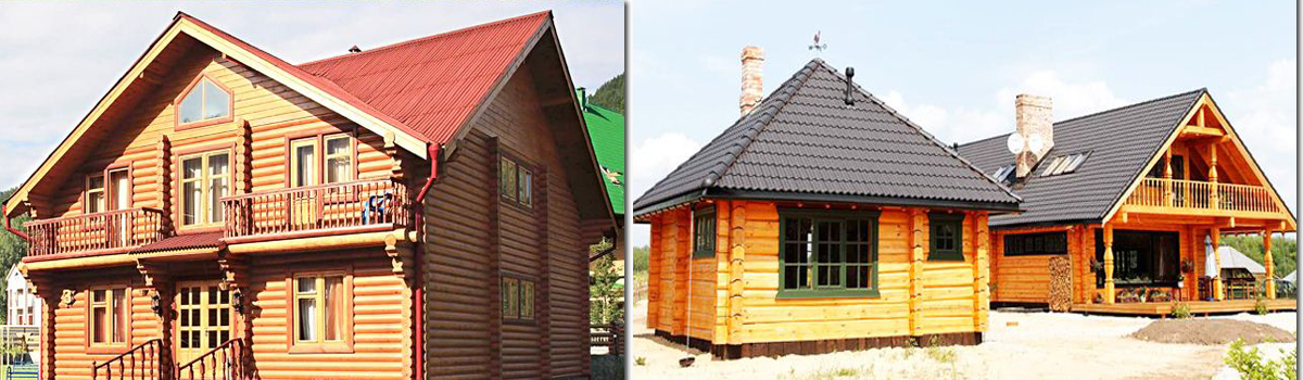 ROOFING SHEETS FOR WOODEN HOMES
